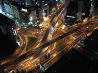 Crisscross Tokyo City