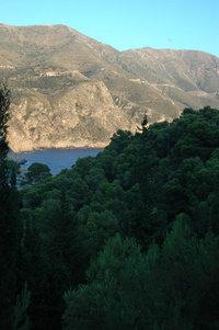 Kefalonian mountains
