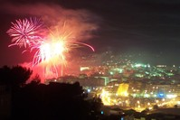Fireworks & Town 1
