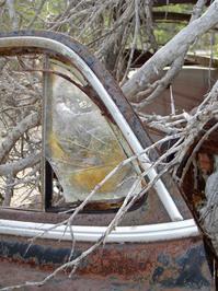 rusty American car 1