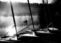 Windsurfers by the lake 1