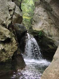 Waterfall in Samos (Greek Isla
