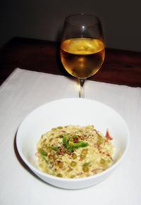 Risotto & wine