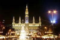 Christkindlmakrt vienna, austria