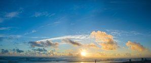 sunrise at Daytona Beach