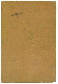 Blank cardboard page, 1954
