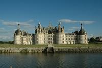 Chambord Castle France at Loir