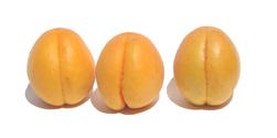3 little apricots