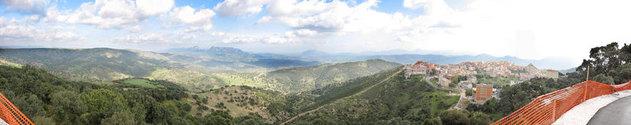 Sardinia, Italy Panorama