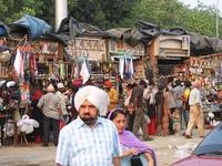 Small Market outside Bangla Saahib