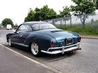 1965 VW Kharmann Ghia (rear)
