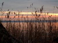 sunset on lake -2