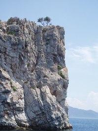 rocks in the sea 1