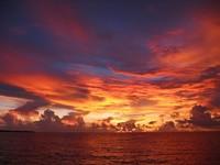 Apo Reef sunset
