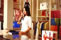 Fashion shop girl