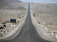 desertic road