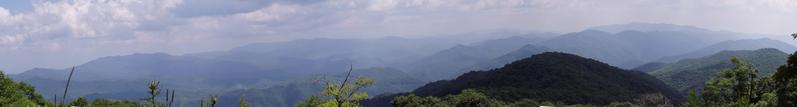 Panorama of Smoky Mountains
