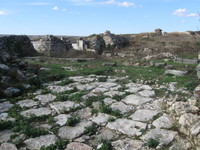 Ancient pavement Adamclisi