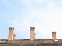 Old brick chimneys