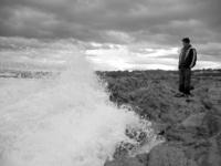 wave crashing at asilomar