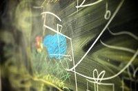 scribbled blackboard