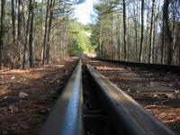 Stone Mountain Railroad Tracks