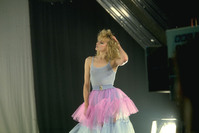 Girl Dancer at rehearsals