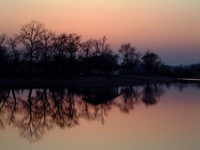 Sunset at lake - 2nd