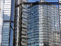 Denver skyline and buildings
