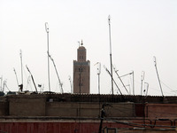 Koutoubia Minaret Jemaa el Fna