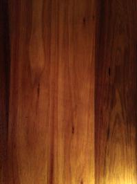 Warm Polished Timber Surface