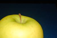 Granny Smith Green Apple on Dark Free Photo 2