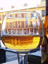 glas of beer