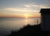 sea side sun set