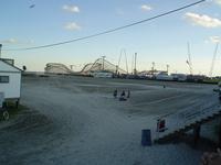Beach and Pier at Dusk