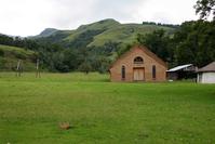Small church on African farm