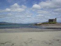 Ruin on the beach - Ireland