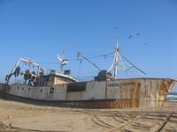 Shipwreck in Angola 1