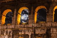 Colosseum moonlight