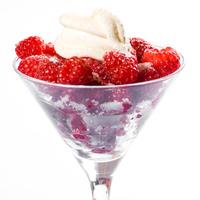 Raspberry dessert 1