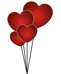 Red Hearts Valentine' Day 2