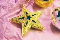 Xmas golden star