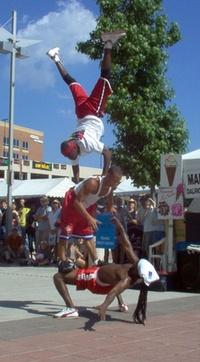 acrobats at festival 3