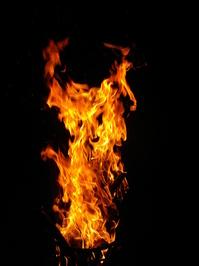 Hot Fire in the Dark 1