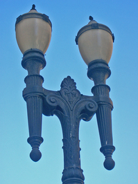 Lamp Post in Sao Paulo