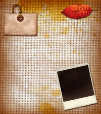 Grunge Fabric Collage 5