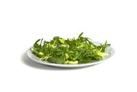 Plate of lettuce