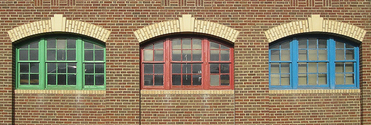 Windows in Brick