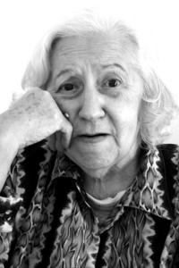 Old sweet woman
