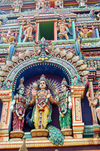 Hindu temple detail 4